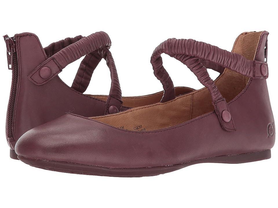 Born Leif (Burgundy Full Grain Leather) Women