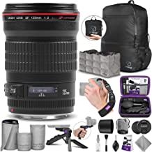 Canon EF 135mm f/2L USM Lens with Altura Photo Essential Accessory and Travel Bundle