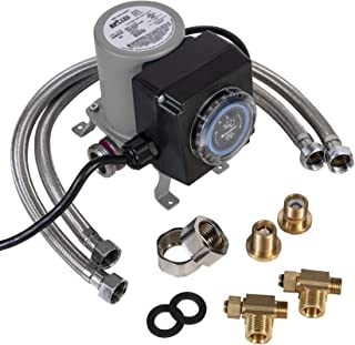 APCOM UT1 Hot Water Recirculation Pump For Under Sink – Instant Hot Water Recirculating System For Tank Type Water Heaters – AO Smith