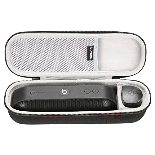 LTGEM EVA Hard Case Travel Carrying Storage Bag for Beats by Dr. Dre Pill+ Portable   Wireless Speaker.Fits USB Cable and Charger.