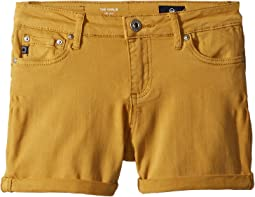 AG Adriano Goldschmied Kids - The Karlie Roll Cuff Shorts (Big Kids)