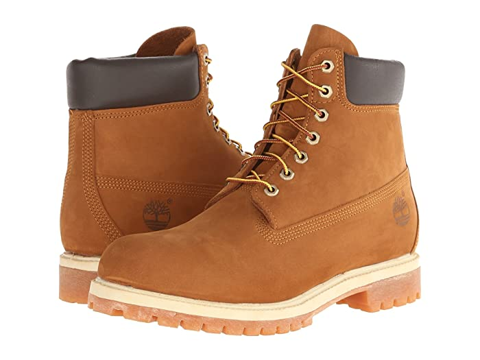 Timberland  6 Premium Waterproof Boot (Rust Nubuck) Mens Lace-up Boots
