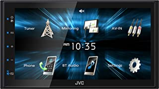 """JVC KW-M150BT Bluetooth Car Stereo Receiver with USB Port – 6.75"""" Touchscreen Display - AM/FM Radio - MP3 Player Double DI... photo"""