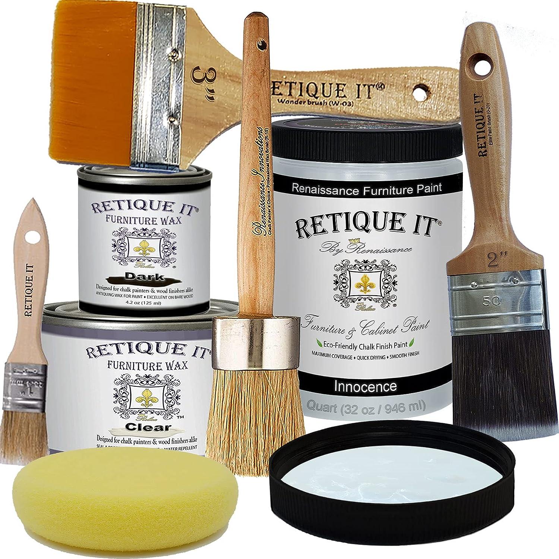 Retique Manufacturer Super beauty product restock quality top! OFFicial shop It Chalk Finish Renaissance D Paint-Innocence Furniture