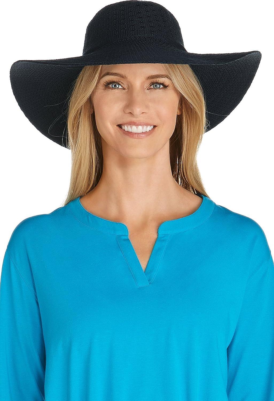 Coolibar UPF 50+ Women's Packable Wide Brim Hat  Sun Predective