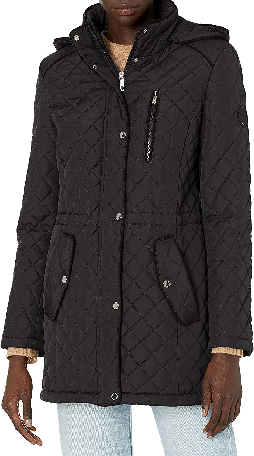 Tommy Hilfiger Women's Classic Quilted Jacket