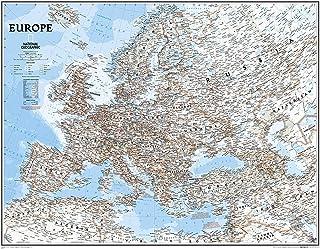 Europa, Classic, politisch, Grossformat, laminiert: 1:541900
