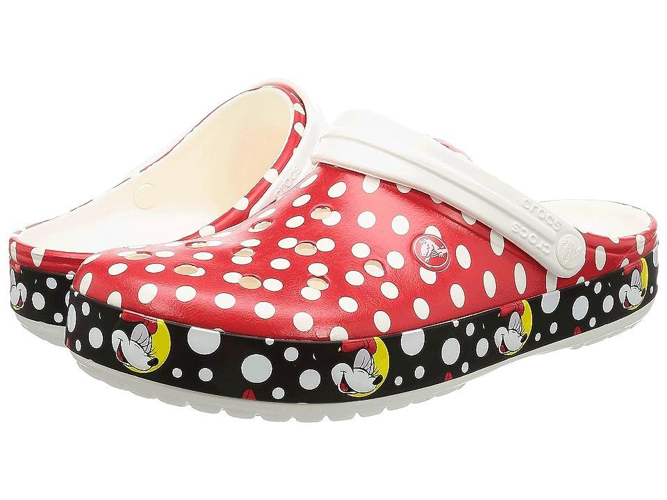 Crocs Crocband Minnie Clog (Multi) Clog Shoes
