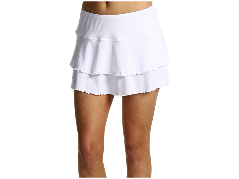 Body Glove Smoothies Lambada Skirt (White) Women