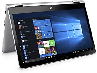 HP Pavilion x360 14-ba104na 14 英寸 FHD 触摸屏可转换笔记本电脑 - (银色)(Intel i5-8250U,8 GB 内存,256 GB SSD,Intel UHD Graphics 620,Windows 10 家庭)