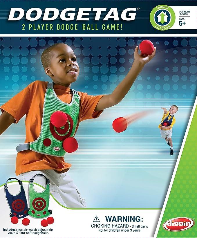 dodge tag game uk Diggin Active Dodge Tag : Amazon.co.uk: Toys & Games