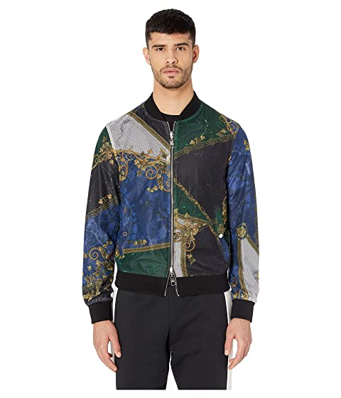 Versace Collection Reversible Printed Bomber