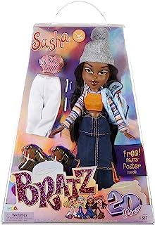 Bratz 20-lecie Edycja Specjalna Oryginalna Lalka Modowa Sasha - Holograficzne Opakowanie i Plakat - Kolekcjonerska - Motyw...