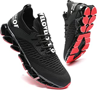Men's Running Shoes Blade Tennis Walking Fashion Sneakers Breathable Non Slip Gym Sports Work...