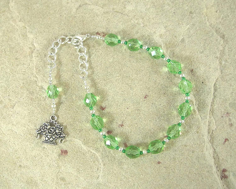 Max 76% OFF Khloris Chloris Prayer Bead Bracelet: Complete Free Shipping Flowers Goddess of Greek