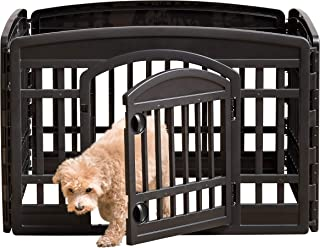 iris pet playpen with door 24 inch
