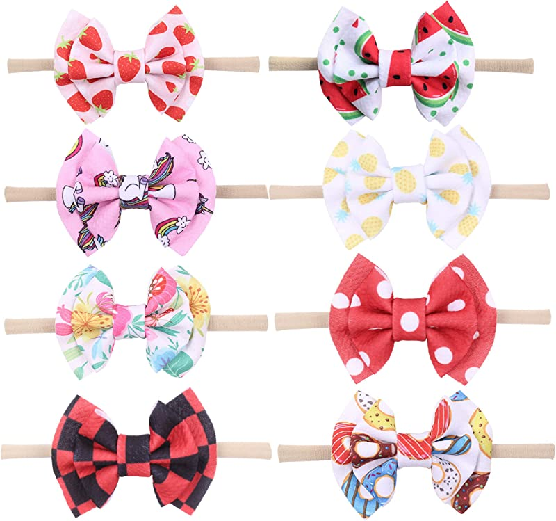 Qandsweet Baby Girl S Headbands And Bows Hair Accessories