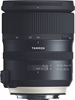 Tamron SP 24-70mm F/2.8 Di VC USD G2 for Canon DSLR Cameras (Tamron 6 Year Limited USA Warranty)