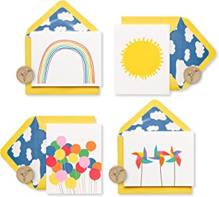 Papyrus Little Box of Happy Keepsake Boxed Blank Note Cards, 20-Count