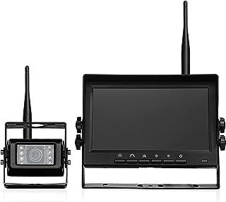 BOYO VISION VTC700AHD - Wireless Vehicle AHD Backup Camera System with 7† Monitor and Backup Camera for Car, Truck, SUV ... photo