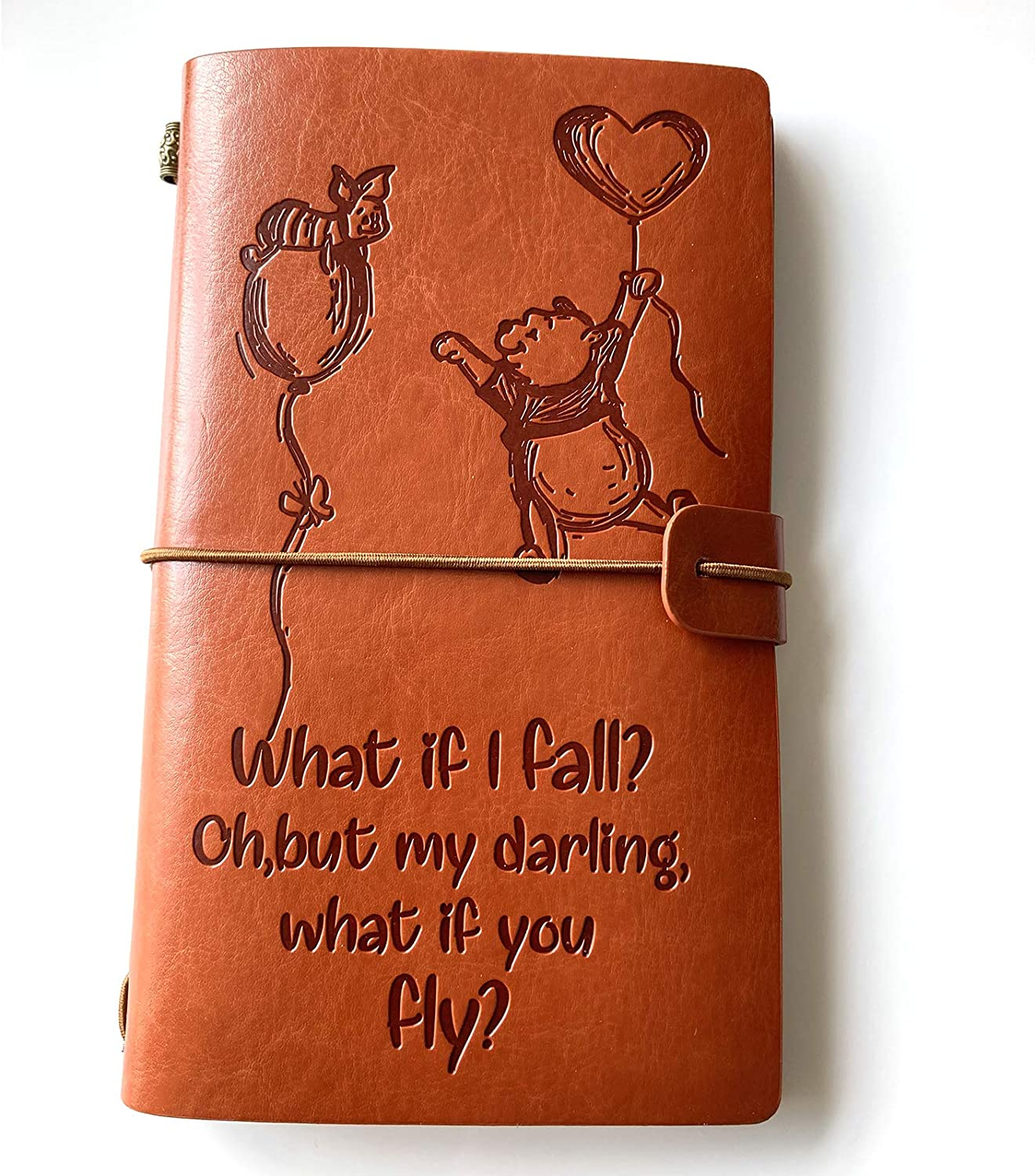 Max 40% OFF Inspirational Winnie The Pooh Quotes fo Translated Notebook Journal Leather
