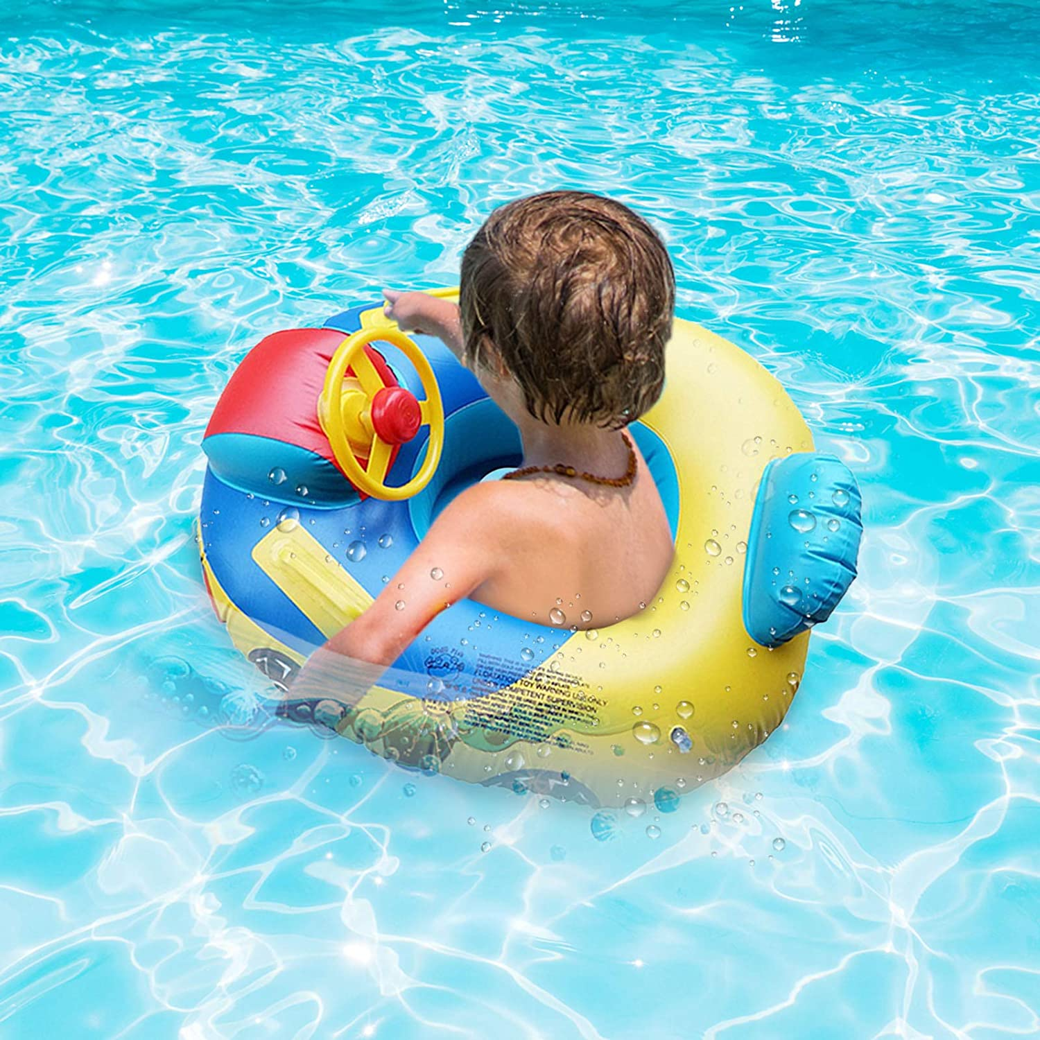 Jialili Toddler Pool Floats 2021 Jacksonville Mall Water Kids Upgrade Today's only Inflatable
