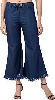 FUNDAY FASHION Women's Loose Fit Culottes