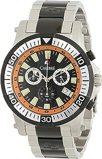 Calibre Men's SC-5H2-04-007.079 Hawk Chrono Analog Quartz Silver Dive Watch
