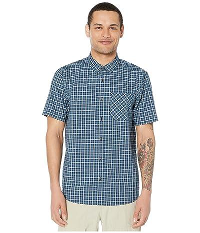 5.11 Tactical Carson Plaid Short Sleeve Shirt (Blueblood) Men