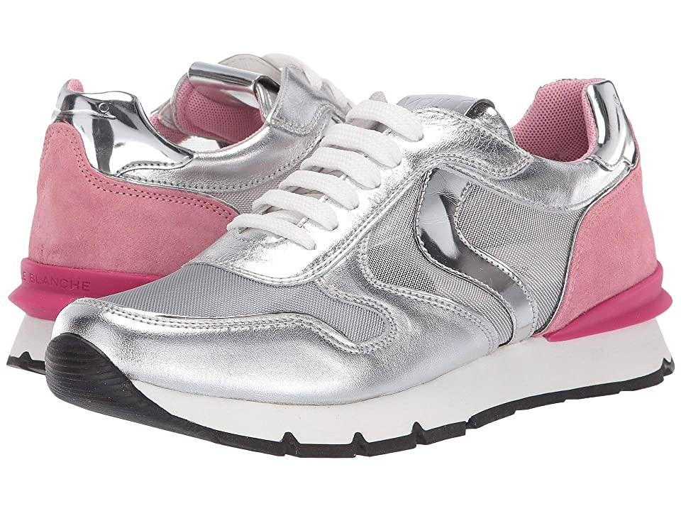 Naturino Voile Blanche Liam Mesh Race SS19 (Little Kid/Big Kid) (Silver/Pink) Girl