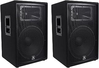"""(2) JBL Pro JRX215 15"""" 2000w Professional Passive PA/DJ Speakers 8 Ohm JRX 215"""
