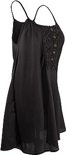 CCcollections 100% algodón Vestido de Mujer Mini Skater