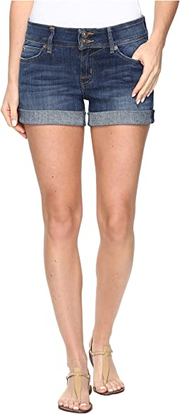 Croxley Mid Thigh Jean Shorts in Adventageous