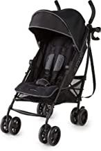 Summer 3Dlite+ Convenience Stroller, Matte Black – Lightweight Umbrella Stroller with Oversized Canopy, Extra-Large Storag...