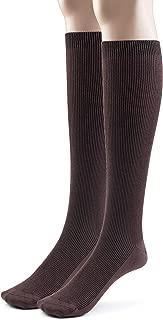 1-2-4 Pk Modal Mens Knee High Socks