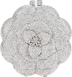 Heart Evening Bags And Clutches For Women Crystal Handbags