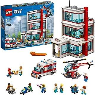 Lego City Town City Hospital Building Set, Multi-Colour
