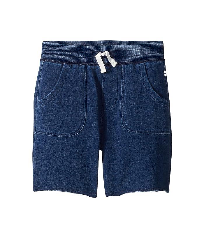 Splendid Littles  Baby French Terry Indigo Shorts (Toddler/Little Kids/Big Kids) (Medium Stone) Boys Shorts