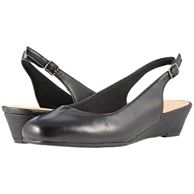 Trotters Lenore (Black Soft Leather) Women
