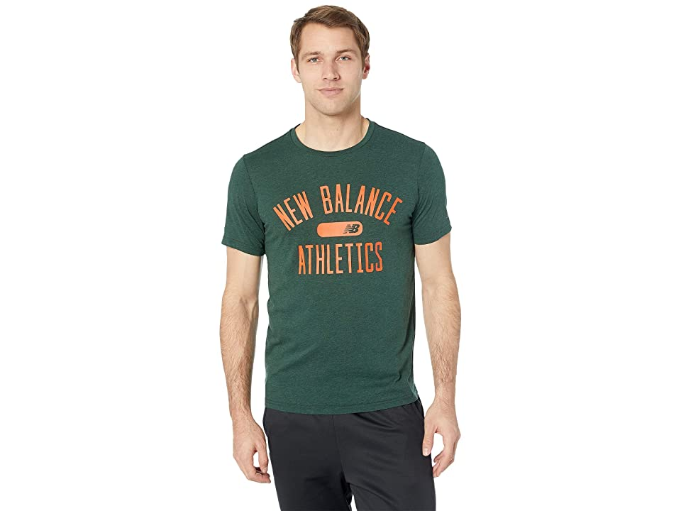 New Balance Athletics Heathertech Tee (Rosin) Men