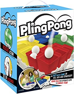 Buffalo Games PlingPong- The Fast-Paced Ping Pong Game of Skill, Luck and