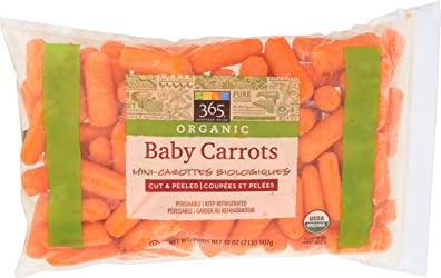 365 Everyday Value, Organic Baby Carrots, 2 lb