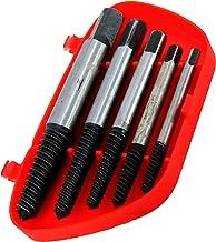 Kit Extrator De Parafuso Quebrado 3 A 18 Mm 5 Pçs Brasfort