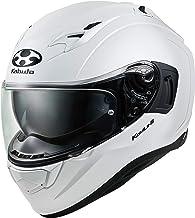 オージーケーカブト(OGK KABUTO)バイクヘルメット フルフェイス KAMUI3 パールホワイト (サイズ:L) 584634