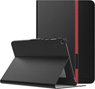 MoKo ASUS ZenPad 3S 10 Z500M Case - Ultra Lightweight Shockproof Folio Stand Cover Protector for ASUS ZenPad 3S 10 Z500M 9.7-Inch Tablet 2016 Release (NOT FIT Model# Z500KL), Black