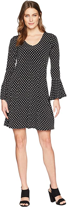 Karen Kane - Flare Sleeve Dress