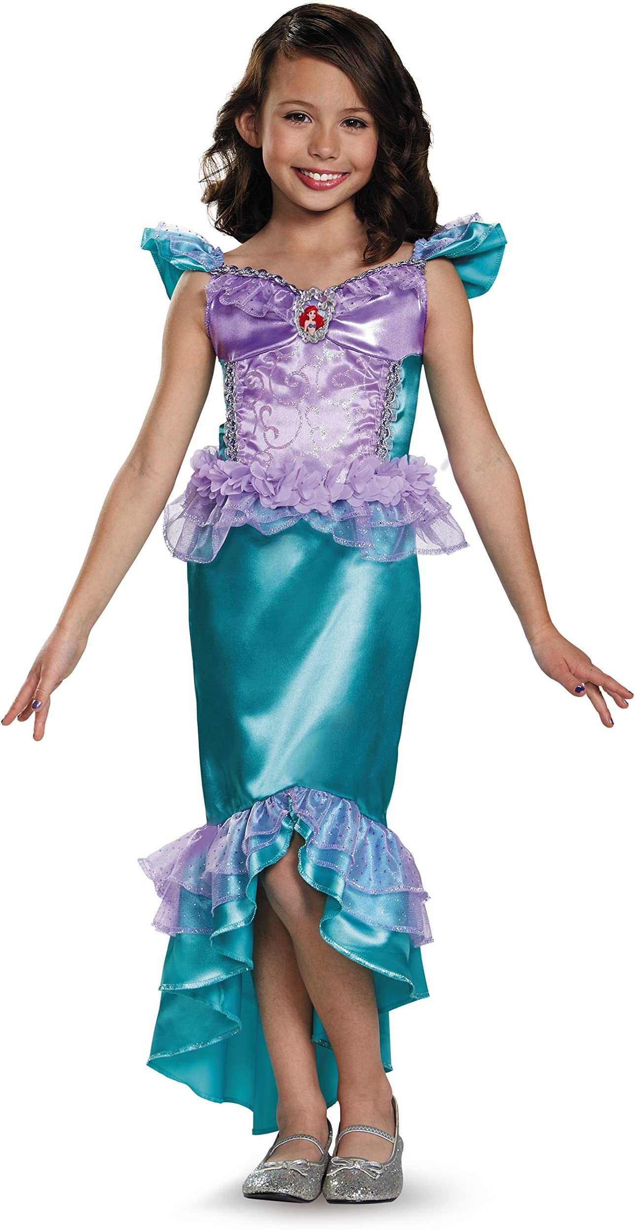 Toddler Girls Mermaid Princess Costume Dress Sz 12 months Handmade Ready to Ship