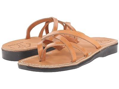 Jerusalem Sandals Tamar Womens (Tan) Women