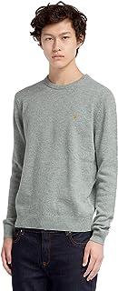 Farah Tim Crew Sweatshirt   Navy Marl