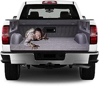 Tailgate Wrap T314 Zombie Vinyl Graphic Decal Sticker F150 F250 F350 Ram Silverado Sierra Tundra Ranger Frontier Titan Tacoma 1500 2500 3500 Bed Cover